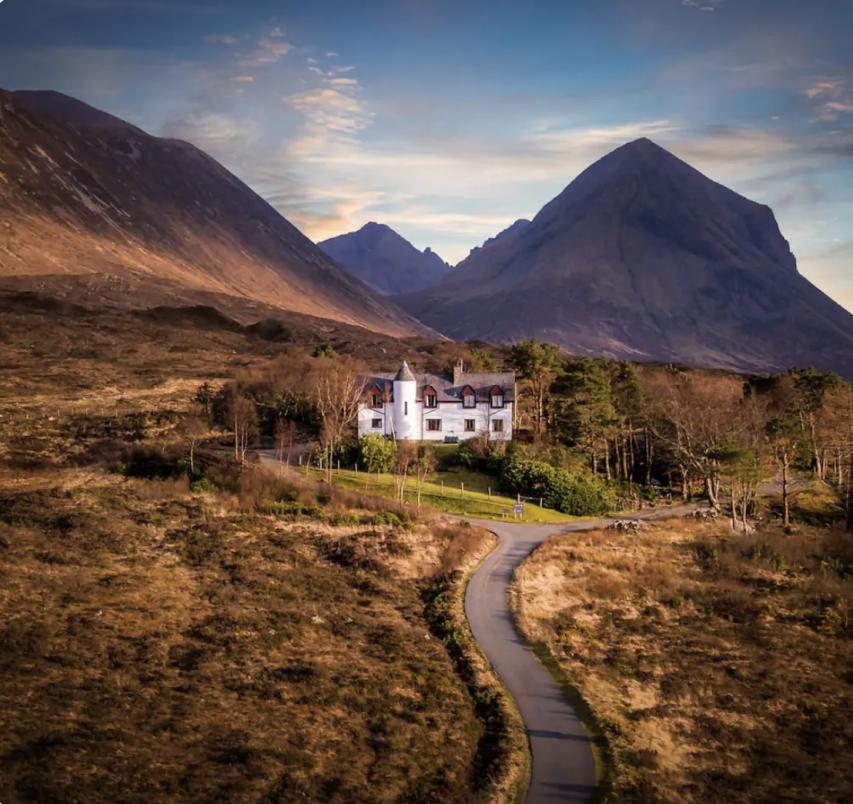 Elopement Photography Workshop in Scotland Venue